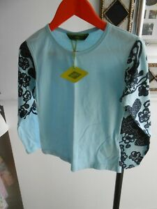 OILILY TOP SIZE 116 STRIKING BLUE COLOUR NEW WITH TAGS PLEASE READ