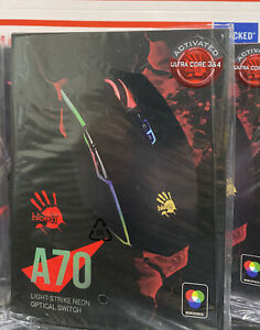 Bloody A70 mouse Matte Black- straight From Bloody Exclusive List -Ships From US