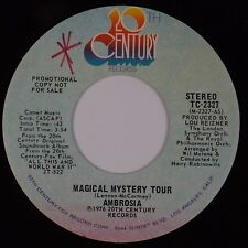 AMBROSIA: Magical Mystery Tour 20th CENTURY Promo 45 VG++ Pop Rock Beatles