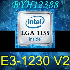 CPU Intel Xeon E3-1230 v2 Quad Core CPU Prozessor 3.3GHz 8MB FCLGA1155 Tested