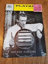 PLAYBILL 1959 Golden Fleecing w/ Ticket Stub.  Henry Miller's Theater. Free S/H