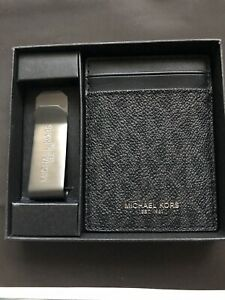 Michael Kors Card Wallet And Money Clip
