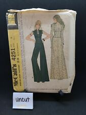 New ListingMcCall's Vintage Sewing Pattern/ 4251 /Uncut/ Sz10 From 1974