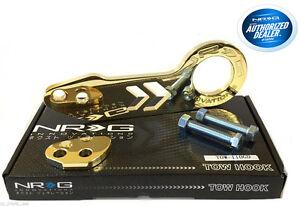 NRG Rear Tow Hook Kit Honda Acura Gold TOW-110CG