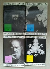 MICHAEL HOLROYD BERNARD SHAW SET OF 4 BOOKS ALL HARDBACK WITH JACKETS 1/1 UK