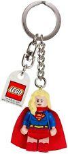 LEGO DC Comics- Supergirl Key Ring/ Keychain - NEW