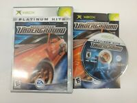 Need For Speed Underground Complete CIB Microsoft Xbox Video Game Tested