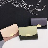 Leather Mini Bags Wallets Protable Women Money Clip Wallet Purse Clutch Popular