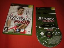 RUGBY CHALLENGE 2006 XBOX MICROSOFT COMPLET PAL