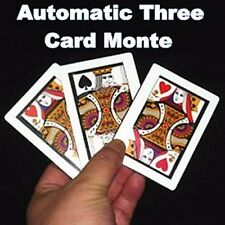 THREE CARD MONTE FIND THE QUEEN POCKET POKER SIZE CARDS MAGIC TRICK USA SELLER