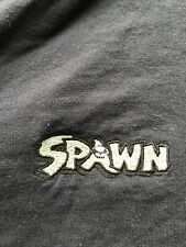 Vintage 90s T-SHIRT SPAWN Embroidered Logo McFarlane  Henley 2xl XXL