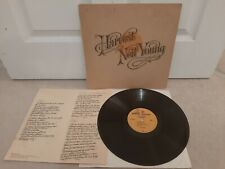 "Neil Young ‎– Harvest Vinyl 12"" LP + Insert German Press K 54005 1972"