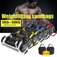 5/10/15/20/25KG Weight Lifting Sandbag Fitness GYM Weights Workout Training Bag