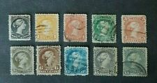 Canada Stamps #21-30  U