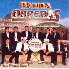 Banda Obreros De Tlapehuala Guerrero Ya Para Que CD New Sealed