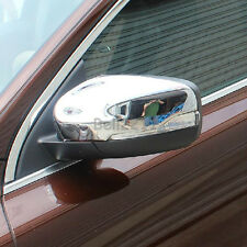 Chrome ABS Side Door Rearview Wing Mirrors Cover  Fit For 2014 2015 Volvo XC60