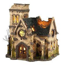 "Dept. 56 Snow Village Halloween ""THE HAUNTED CHURCH""  ~ NEW ~ CREEPY!!!!"