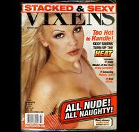 Playboy's Vixens V.4 | Angilina DeVille | 2005 | Factory Sealed | Erica Campbell