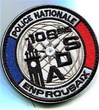 108ème ADS ENP ROUBAIX écusson à coudre brodé  8 cm pour collection
