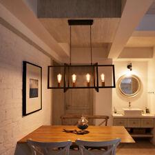 Industrial 4 Lights Kitchen Island Light Hanging Pendant Light Ceiling Fixture