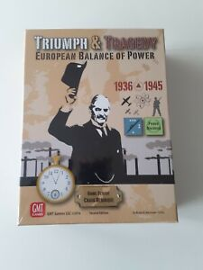 Triumph and Tragedy - GMT Games - Factory Sealed