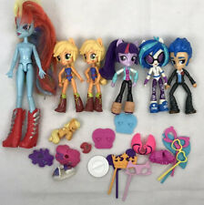 Equestria Girls My Little Pony lot standard & minis + accessories