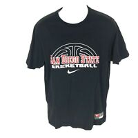 Nike Sri-fit San Diego State Basketball T-Shirt L
