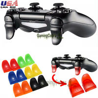 2x R2 L2 Button Extended Trigger Cover Extender for Playstation 4 PS4 /Slim