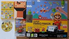 Nintendo Wii U Super Mario Maker Premium Pack 32GB Schwarz Spielekonsole