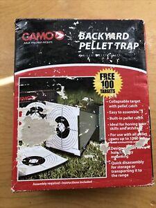GAMO Collapsable Cone Backyard Pellet Trap With Paper Targets Air Gun Pellet