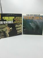 Lot Of 2 Records From The Ventures Surf Rock 100000 Dollar Weekend, Best Of