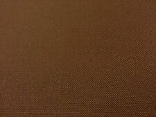 WATERPROOF BROWN TOUGH HIGH PERFORMANCE APPAREL CANVAS FABRIC -SAMPLE
