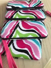4 NEW iPhone 5 Wallet Case wristlets Bytech Multi Color