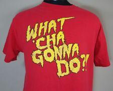 VTG Hullk Hogan T Shirt WWE WWF Hulkster Hulkamania Wrestling WCW NWO