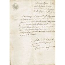 FABREGUES 34 Extrait de l'Acte de Naissance de Jacques LACOUR le 1 novembre 1759