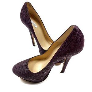 all saints Dixie Heels Womens Burgundy 37.5 Ultra High Heels