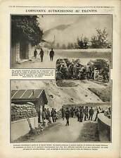 Austria Army Trentino-Alto Adige Trentin-Haut-Adige Tyrol du Sud War 1916 WWI