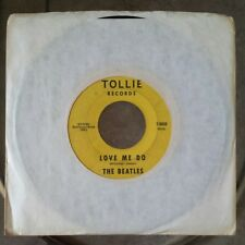 """THE BEATLES Love Me Do/P.S. I Love You 7"""" 45RPM TOLLIE 9008"""