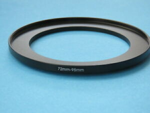 72mm to 95mm Step-Up Ring Camera Filter Adapter Ring 72mm-95mm