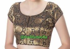 Readymade Saree Blouse,Designer Sari Blouse,Party Wear Top, Brocade Choli Blouse