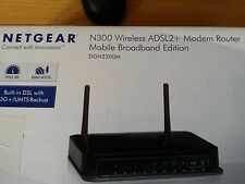 Modem Router NETGEAR N300 Wireless ADSL2+ 3G/UMTS