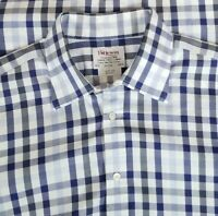 T.M. Lewin Men's Two-Fold Cotton Slim Fit Button Up Long Sleeve Shirt 16.5-34/35