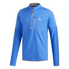 adidas Climawarm Gridded Herren Golf Pullover Shirt langarm 1/4 zip