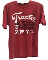 Tractor Supply Red T-Shirt Minot, North Dakota Size Large