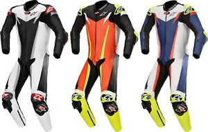 Alpinestars Gp-Tech v3 Men's Leather Suit Motorcycle One Piece Airbag Compatible
