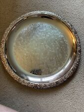 Vintage Silver Plate Tray 26cm