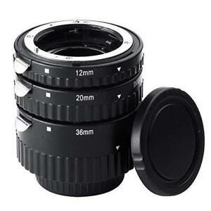 Mcoplus Extnp Auto Focus Macro Extension Tube Set for Nikon AF AF-S DX FX SLR