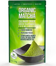 Matcha Green Tea Powder Powerful Antioxidant Japanese Organic Culinary Grade 113