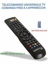 TELECOMANDO UNIVERSALE PER TELEVISORI 1ONE - INVIARE MODELLO DEL TV/DECODER