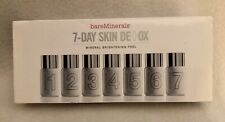 bareMinerals Bare Escentuals 7-Day Skin Detox Mineral Brightening Peel New